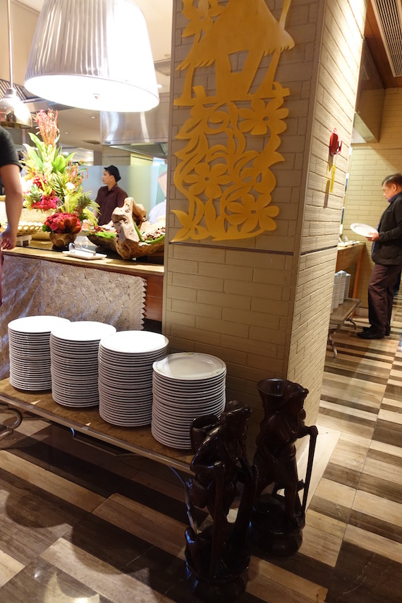 Manila Hotel Filipino Food Festival 2016 plates
