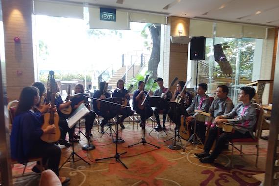 Manila Hotel Filipino Food Festival 2016 san sebastian manila rondalla