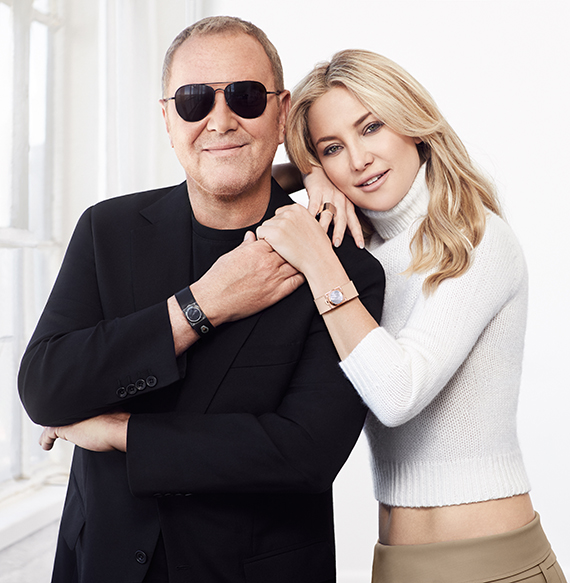 Michael Kors and Kate Hudson_Watch Hunger Stop