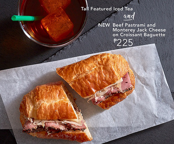 Starbucks Signature Pairings DayPart-Beef Pastrami