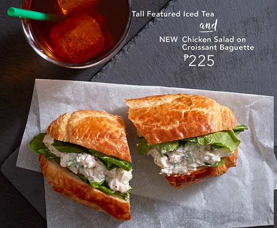 Starbucks Signature Pairings DayPart-Chicken Salad