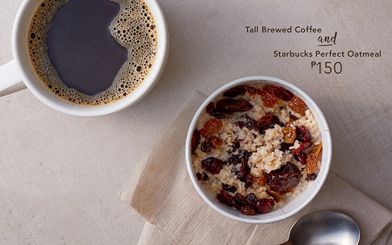 Starbucks Signature Pairings DayPart-Perfect Oatmeal