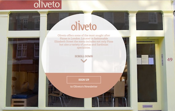 oliveto-website