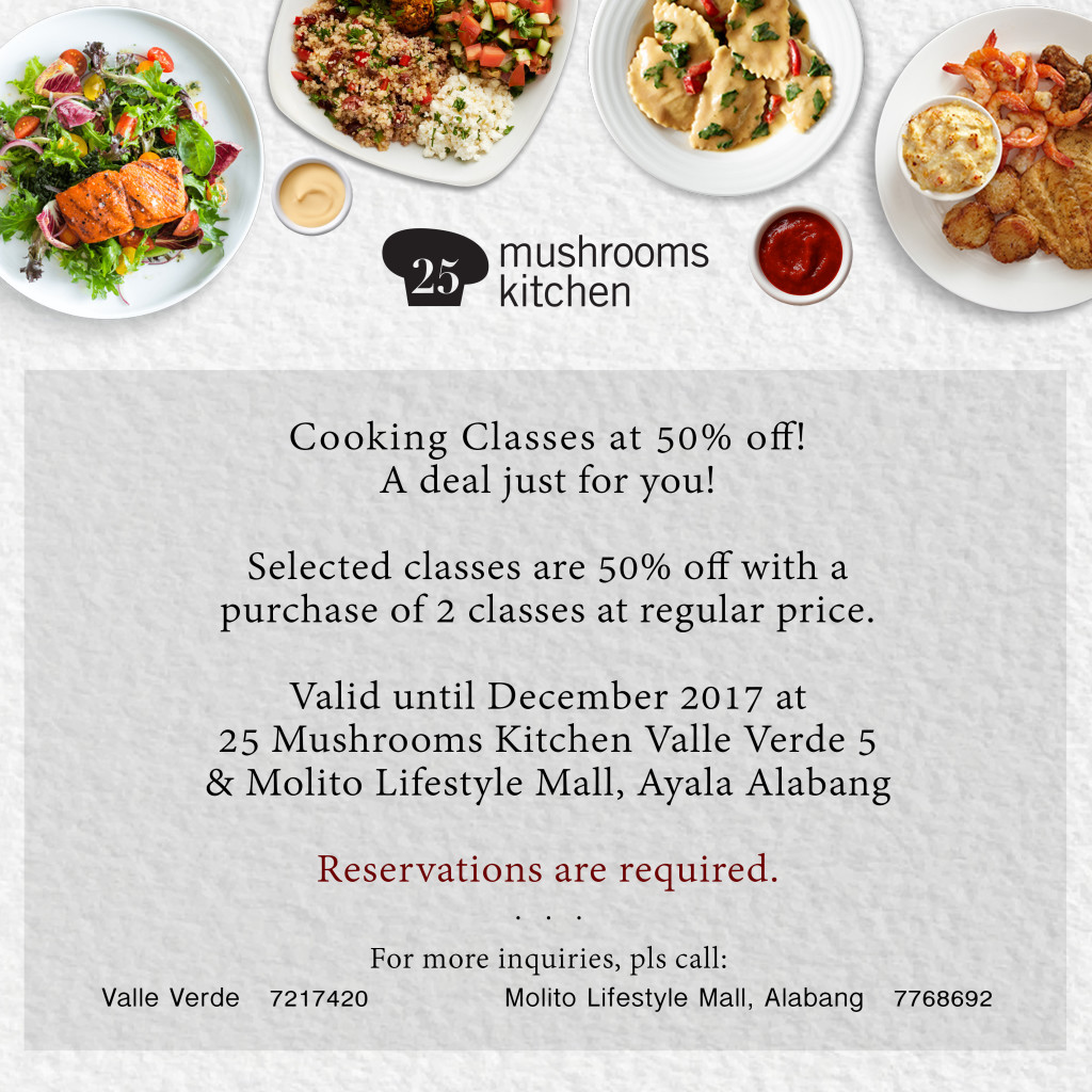 25 Mushroom kitchen PROMO H2H card