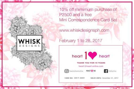 Heart to Heart Feb Promo