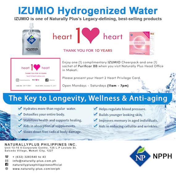 Izumio heart 2 heart
