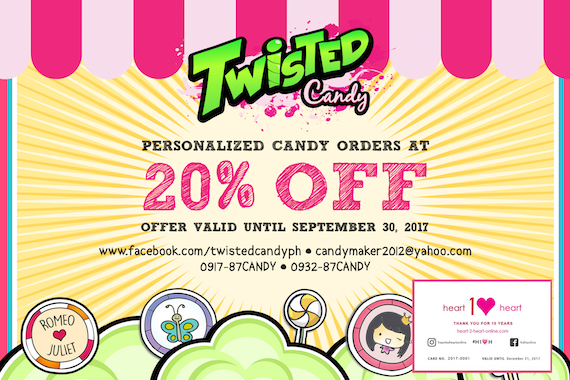 Twisted Candy Heart-to-Heart Card 2017