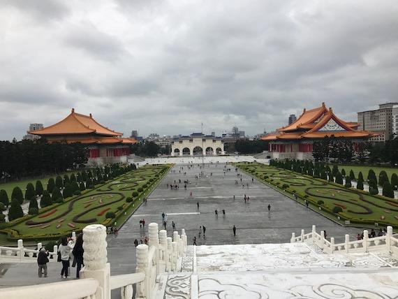 chiang kai she memorial hall garden