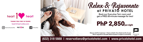 privato relax and rejuvenate - heart to heart