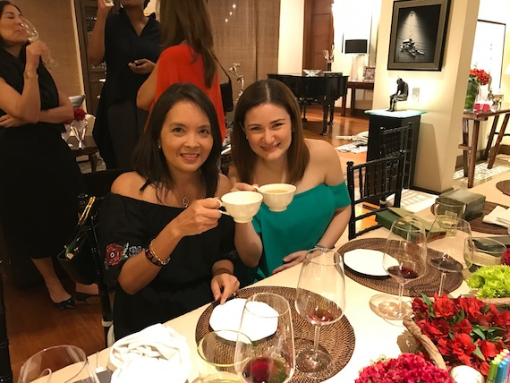 Anna Palabyab Rufino myEO wine down