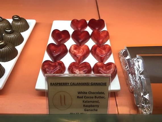 Cafe macaron cakes Fairmont makati heart chocolate