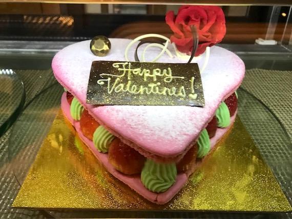Cafe macaron cakes Fairmont makati valentine