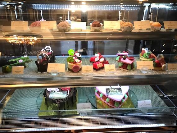 Cafe macaron cakes Fairmont makati