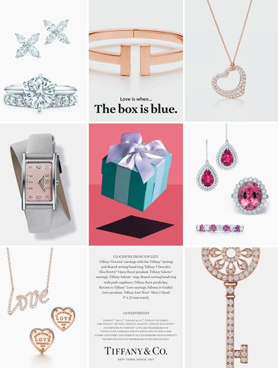 Tiffany & Co Valentines 2017