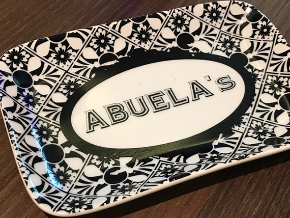 Using our H2HCard at Abuela's (1)