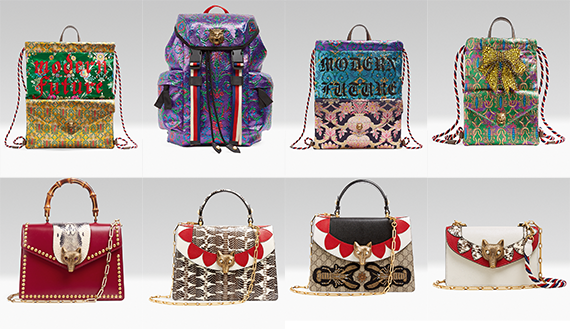 GUCCI LAUNCHES NEW HANDBAG MODELS FOR SPRINGSUMMER 2017