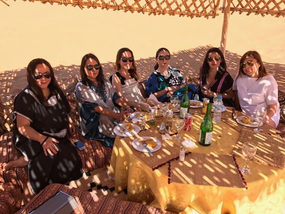 Lunch at the Desert Camp (1)