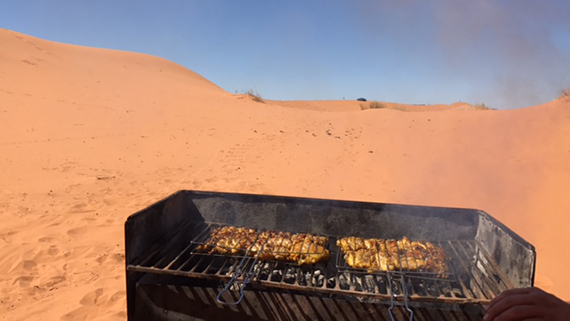 Lunch at the Desert Camp (5)