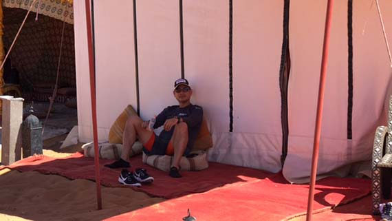 Relaxing at the Desert Camp (17)