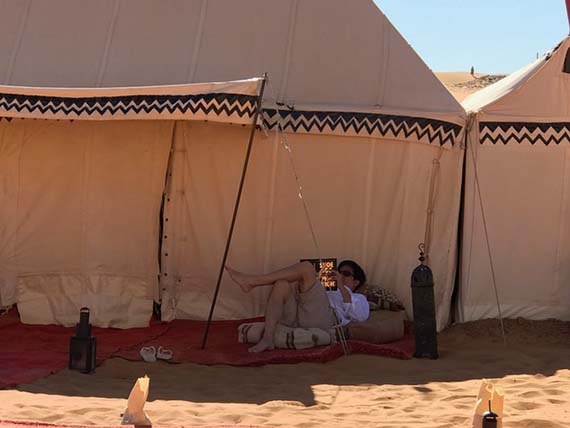 Relaxing at the Desert Camp (21)