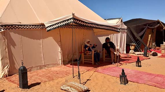 Relaxing at the Desert Camp (3)