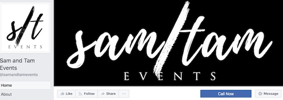 Sam and Tam Events facebook