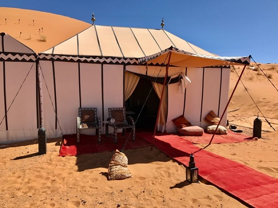 Tent at the Desert Camp (2)