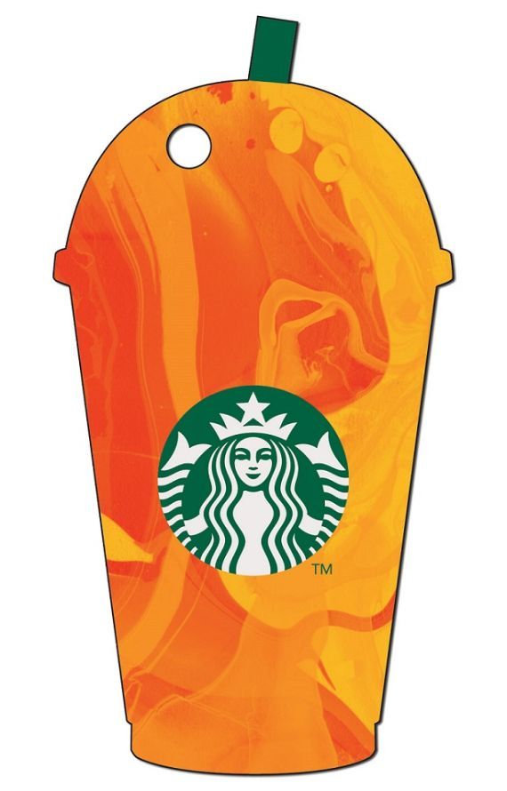 Frappuccino-Diecut-Card-orange