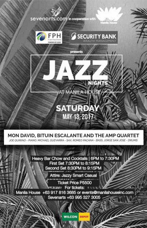 Jazz Nights at Manila House