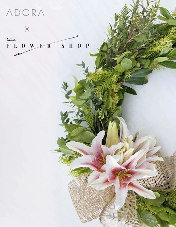 Adora X Rustans Flower SHop