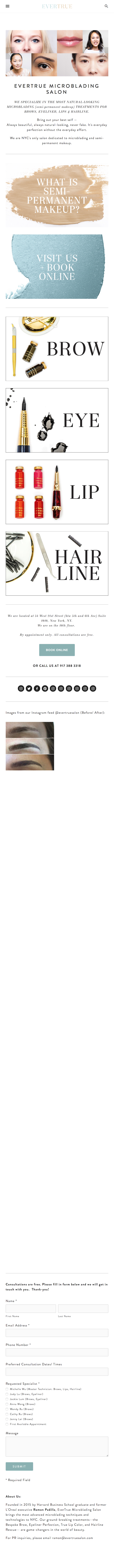 Our salon specializes in the most natural-looking semi- permanent makeup  treatments for brow, eyeliner, lip, and lash.