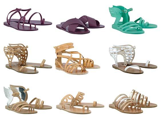 Rustan's on Ancient Greek Sandals SS17