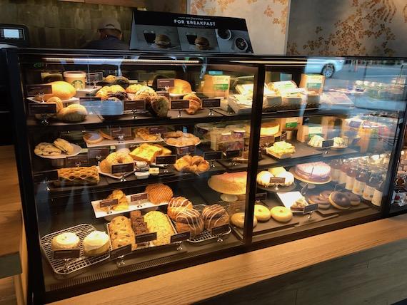 Starbucks reserve jupiter pastry case
