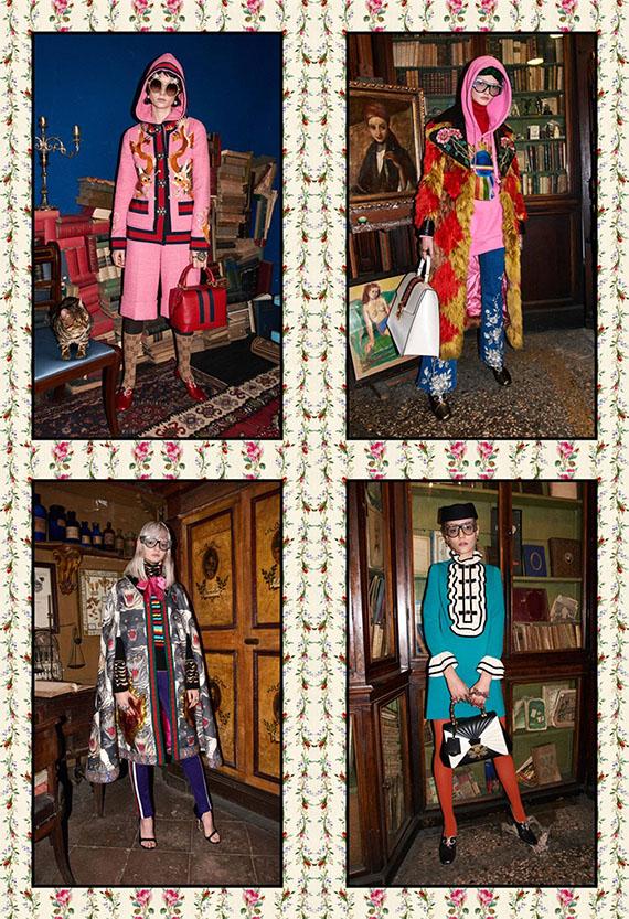 Gucci Men & Women Pre-Fall 2017 Collection (6)