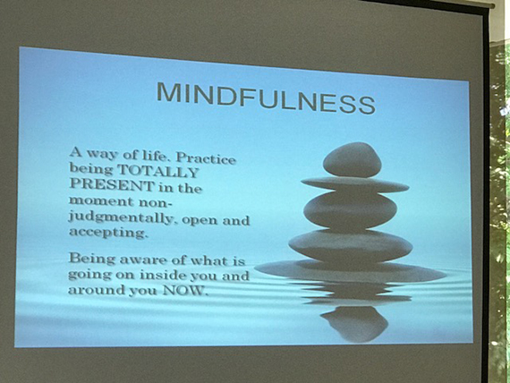 A Talk on Mindfulness (13)
