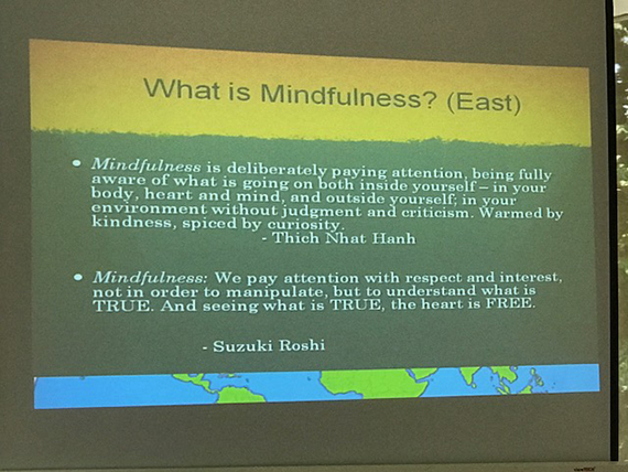 A Talk on Mindfulness (14)