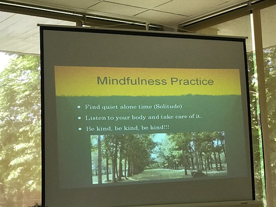 A Talk on Mindfulness (23)