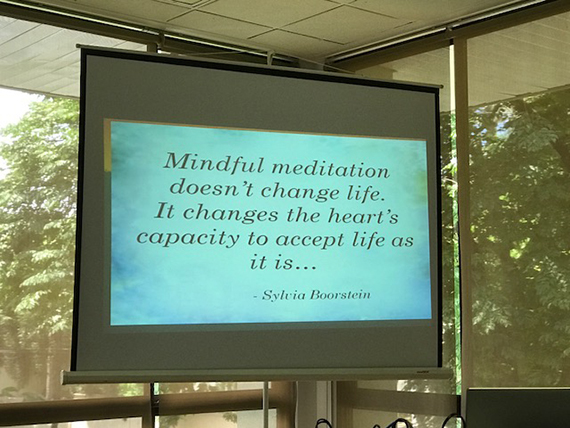 A Talk on Mindfulness (26)