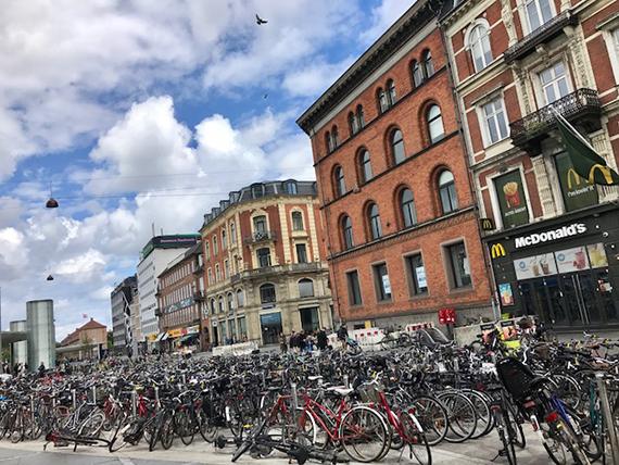 Biking in Copenhagen (4)