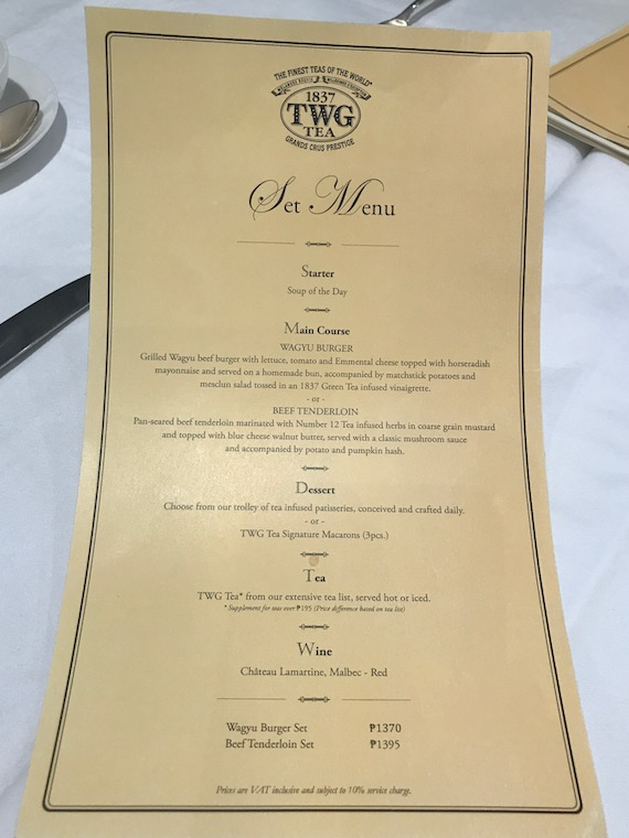 Lunch at TWG (1)