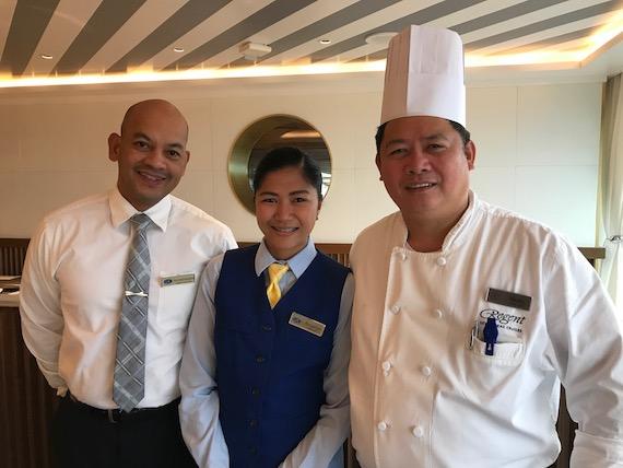 regent cruises filipino staff seven seas explorer