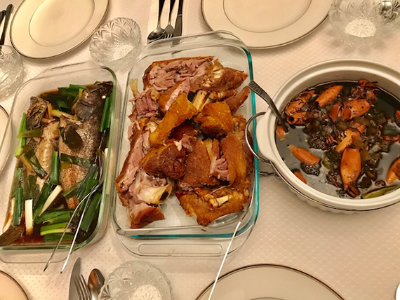 Filipino dinner by Bambi's Gourmet Kitchen (1)
