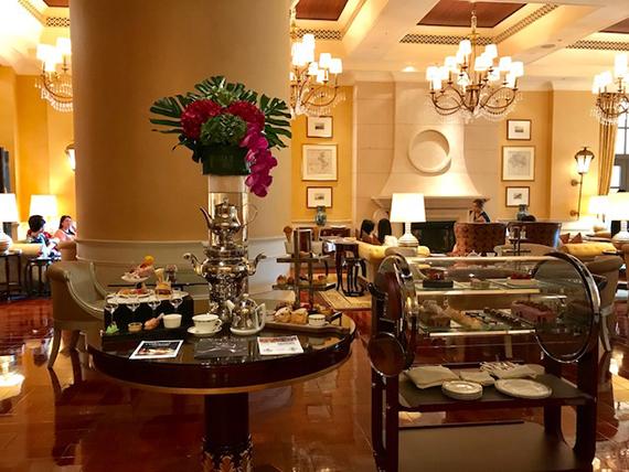 High tea at the Four Seasons Macau (1)