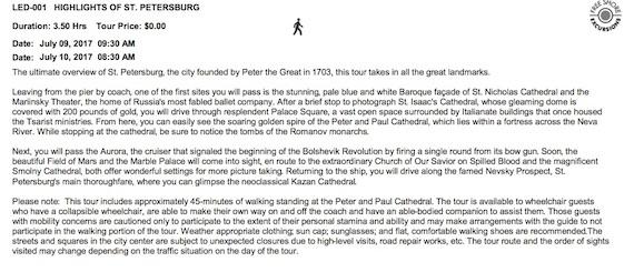 Highlights of st petersburg tour regent seven seas