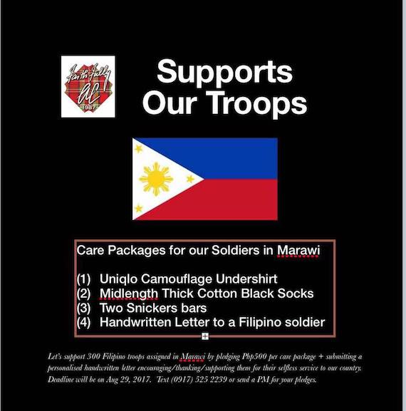 AC Batch 87 Supports Our Troops (8)