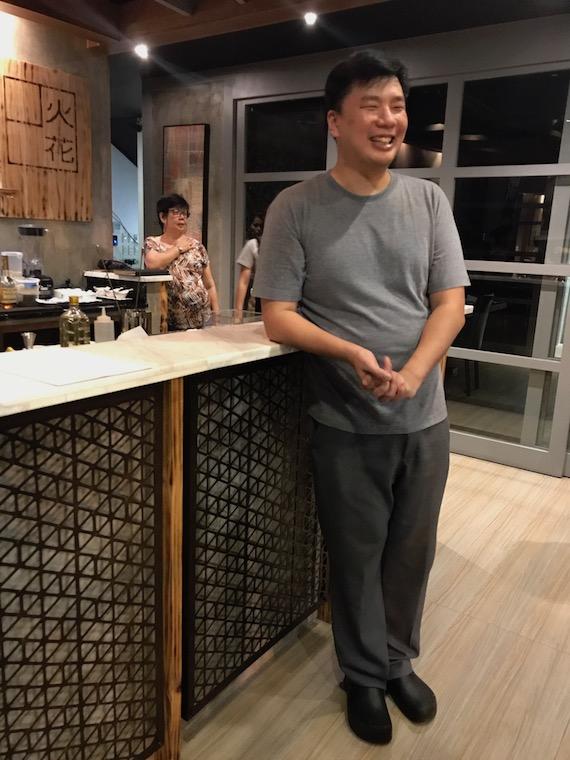 Chef Mark Tan Hibana
