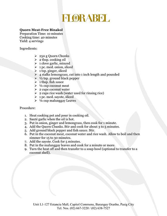Florabel Quorn Recipes FINAL11