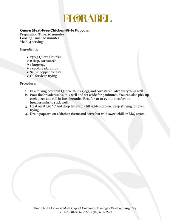 Florabel Quorn Recipes FINAL14