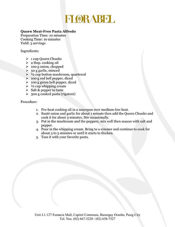 Florabel Quorn Recipes FINAL15