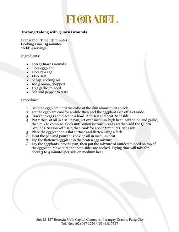 Florabel Quorn Recipes FINAL6